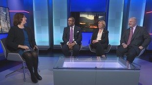 Emma was joined by James Cleverly MP (Con), Baroness Angela Smith (Lab) and Cllr Pete Reeve (Ukip)
