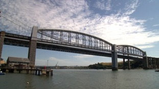 The heavily congested bridge between Plymouth and Saltash was opened 55 years ago.