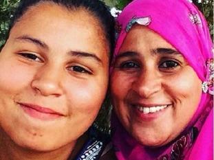 Faouzia El-Wahabi and daughter Nur Huda