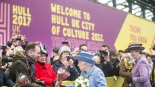 Queen makes royal visit to Hull