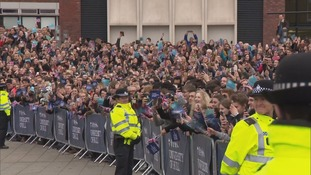 Thousands were out in Hull to see the Queen