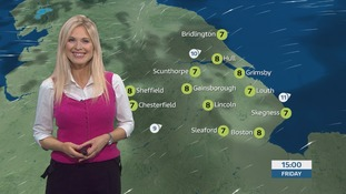 The morning forecast with Jo Blythe