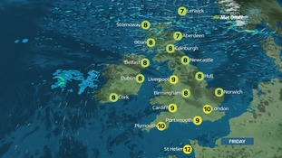 A cold and frosty start across many areas first thing.