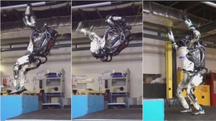 US firm creates backflipping humanoid robot