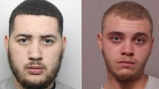 Stretton (left) and Garner (right) were both found guilty of murder.