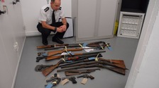 44 guns handed in to Jersey Police