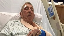 Family's anger over dad injured in suspected hit-and-run