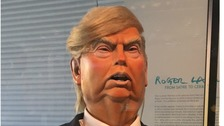 He's the spit of the Donald: new puppet is star of Norwich show