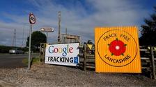 pic of fracking slogan.