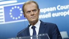 Tusk gives UK deadline for Brexit talks progress