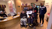 WATCH: Bolton Wanderers stars inspired by visit to local children's hospice