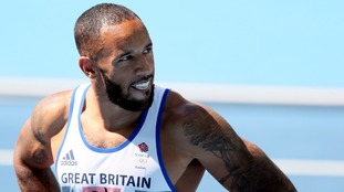 British sprinter James Ellington's future in doubt 'because of a cut in his funding'