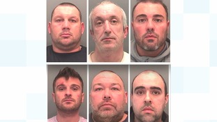 Cocaine and cannabis drugs gang jailed for 60 years