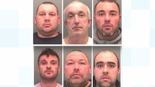 Cocaine and cannabis gang jailed for 60 years