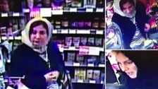Two women captured on CCTV in Spar shop on Andover Road