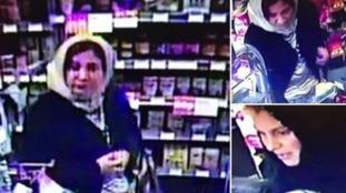 Two women captured on CCTV in Spar shop on Andover Road
