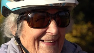 Joan Reynolds has started cycling for the first time since she was a child.