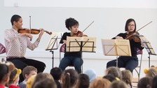 World-class musicians visit schools in Bristol