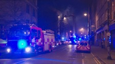 "Cathedral Quarter fire ""no risk to the public"""