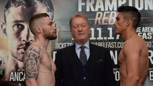 Frampton makes weight for Garcia fight