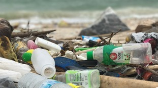 Around 12 million tonnes of waste enter oceans every year.