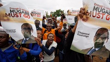 Zimbabweans rally in 'unprecedented' numbers demanding Mugabe departure