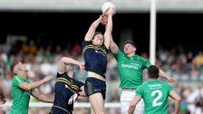 Ireland narrowly beaten by Australia in Perth
