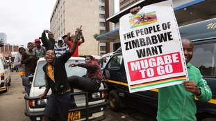 Demonstrations took place in Harare and Bulawayo.