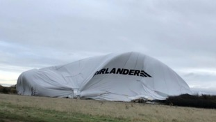 World's largest aircraft crashes at Cardington Airfield for the second time