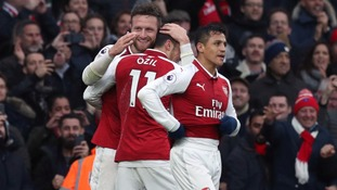 Premier League: Ozil stars as Arsenal beat Spurs 2-0 in North London Derby