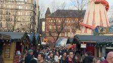 Christmas festivities get underway in Belfast