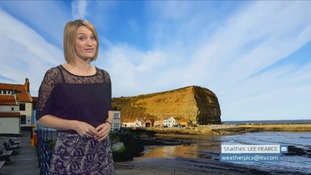 Saturday's forecast for the North East