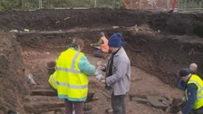 WATCH: Roman dig at Carlisle Cricket Club ends