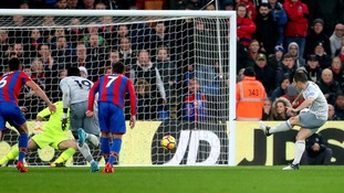 Premier League: Crystal Palace denied victory after controversial penalty earned Everton a 2-2 draw