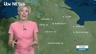 East Midlands Weather: Clear night with frost developing