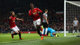 Premier League: Man United hit four past Newcastle as Pogba and Zlatan return