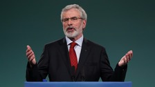 Gerry Adams to step down as Sinn Fein leader in 2018