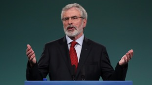 Gerry Adams announces plan to step down as Sinn Fein president in 2018