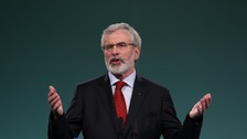 Adams to stand down as Sinn Féin president next year