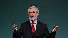 Adams to stand down as Sinn Féin president next year