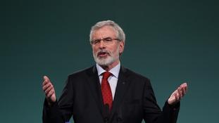Gerry Adams to stand down as Sinn Féin president next year