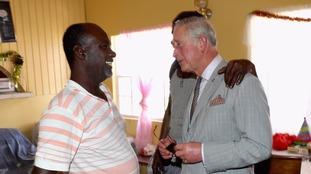 Prince of Wales meets survivors in hurricane-hit British Virgin Islands