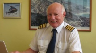 Captain Mike Green was paid tributes by friends and colleagues.