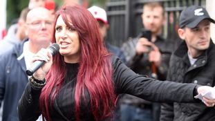 Britain First deputy leader arrested over Belfast speech