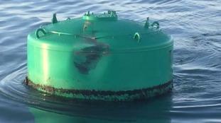 Sunken yacht poses no danger to navigation
