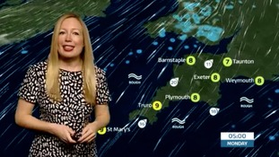 Cloud and patchy rain this afternoon