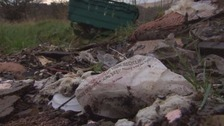 Fly-tipping rises in Conwy
