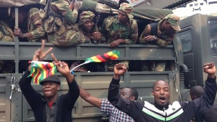 Zimbabweans calls for Mugabe to step down.