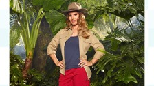Rebekah Vardy ventures into the jungle