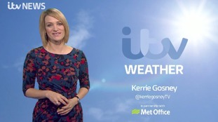 Sunday weather update with Kerrie